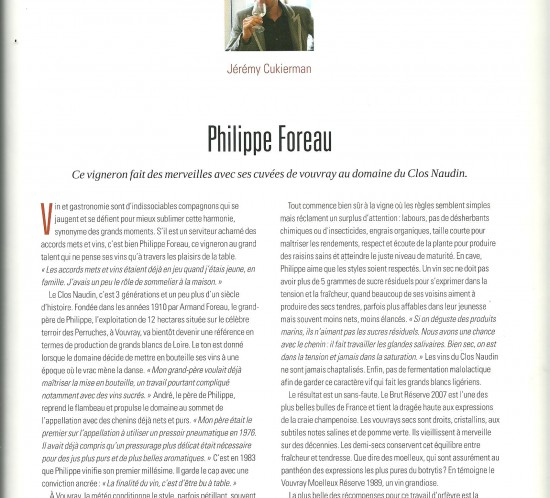 article vigneron P. Foreau